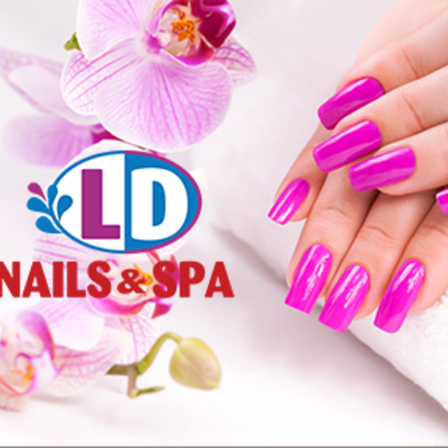 LD Nails & Spa, Chicago, IL logo