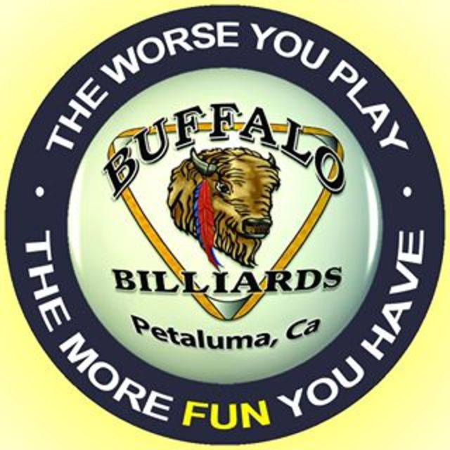 Buffalo Billiards, Petaluma, CA logo