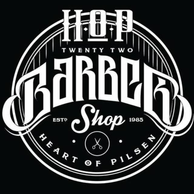 HOP 22 Barbershop, Chicago, IL logo