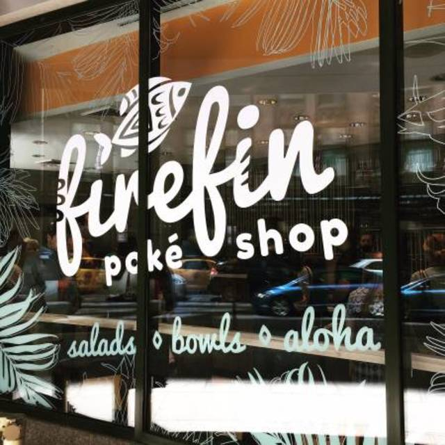 Fire Fin Poke Shop, Chicago, IL logo