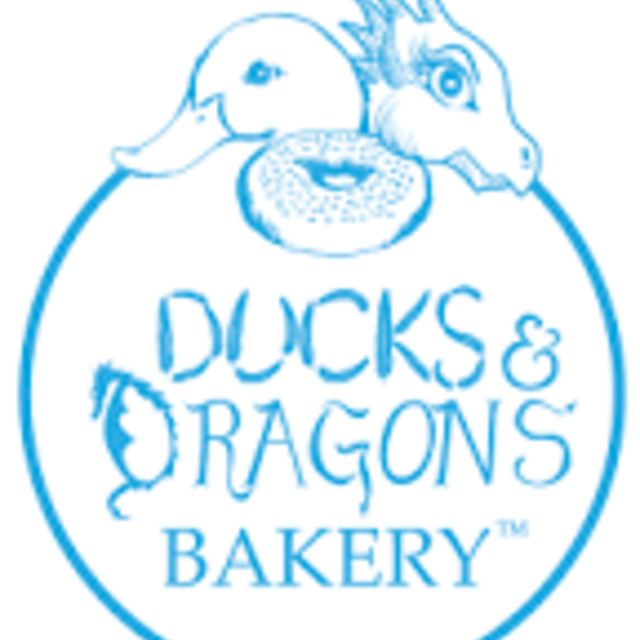 Ducks and Dragons Bakery, San Carlos, CA logo
