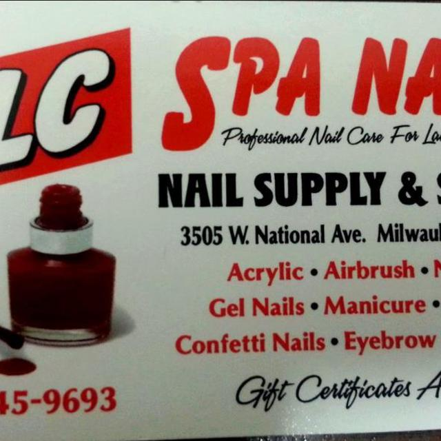 TLC Spa Nails, Milwaukee, WI logo