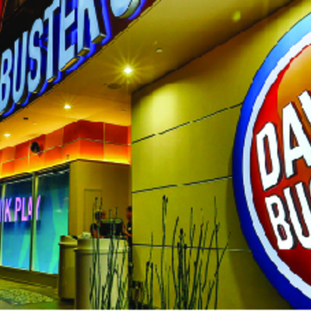 Dave and Busters, Daly City, CA logo