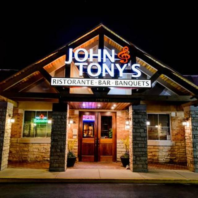 John & Tony's, West Chicago, IL logo