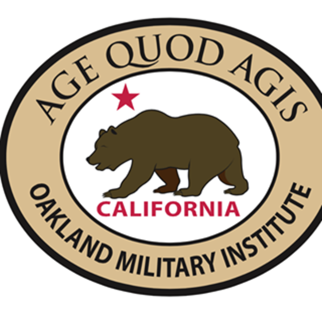 Oakland Military Institute, Oakland, CA logo