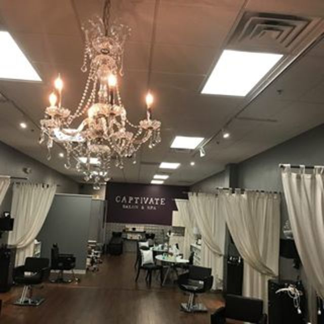 Captivate Salon & Spa, Crystal Lake, IL logo
