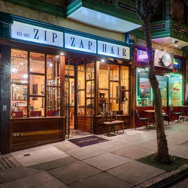 Zip Zap Hair, San Francisco, CA logo