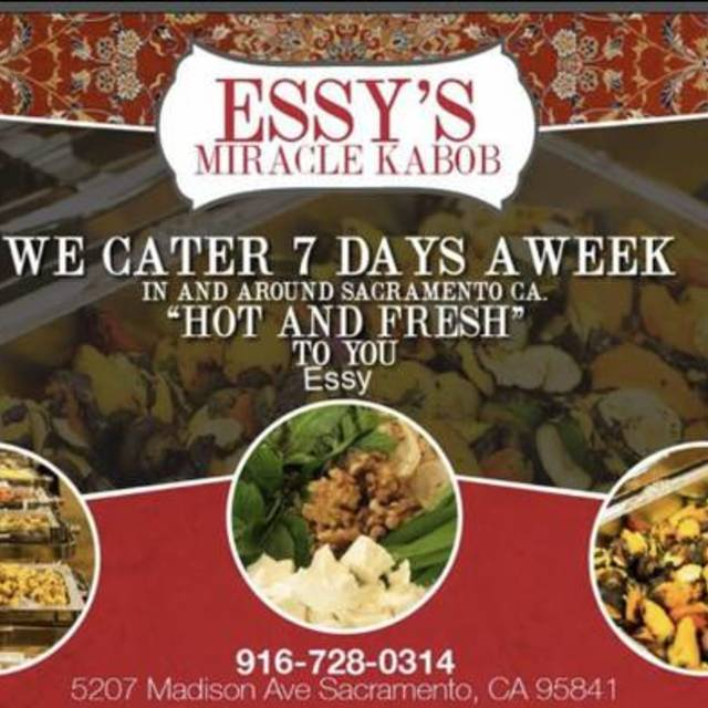 Essy's Miracle Kabab, Sacramento, CA - Localwise business profile picture