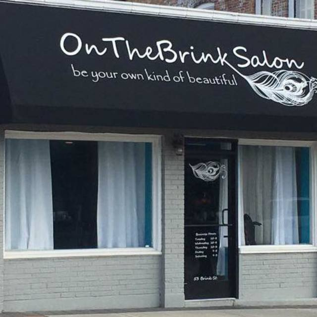 On The Brink Salon, Crystal Lake, IL logo