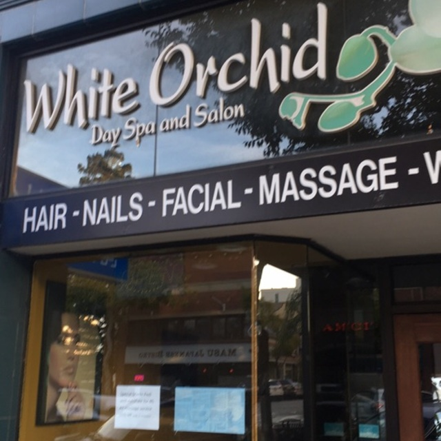 White Orchid Day Spa & Salon, San Mateo, CA logo