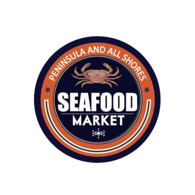 Peninsula and All Shores Seafood Market, San Bruno, CA logo