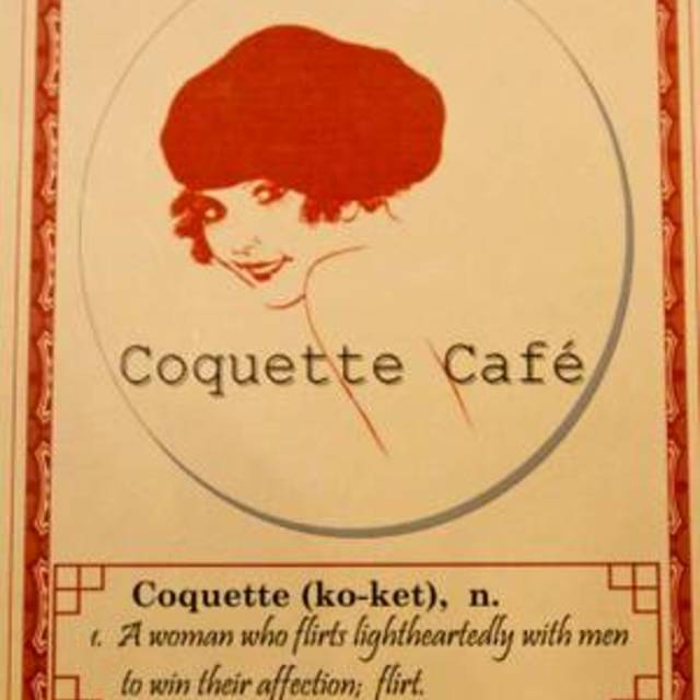 Coquette Cafe, Milwaukee, WI logo
