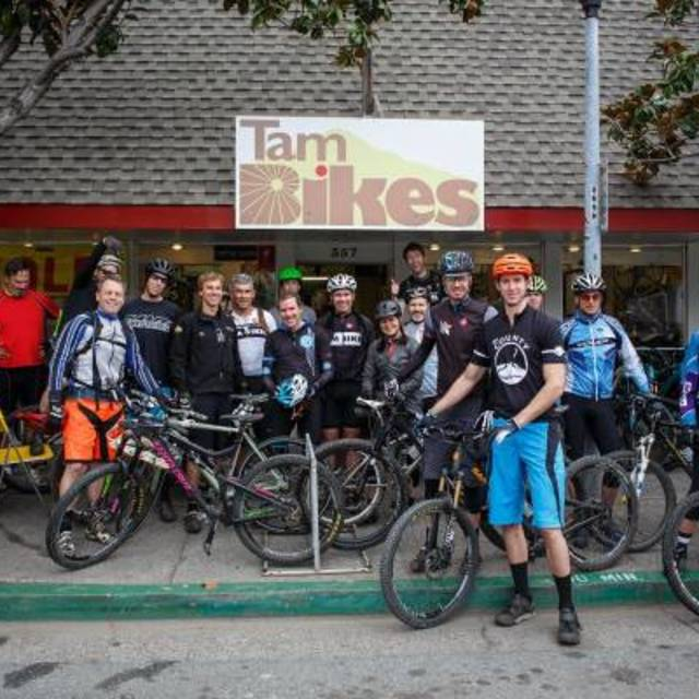 Tam Bikes, Mill Valley, CA logo