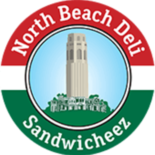 North Beach deli, Oakland, CA logo