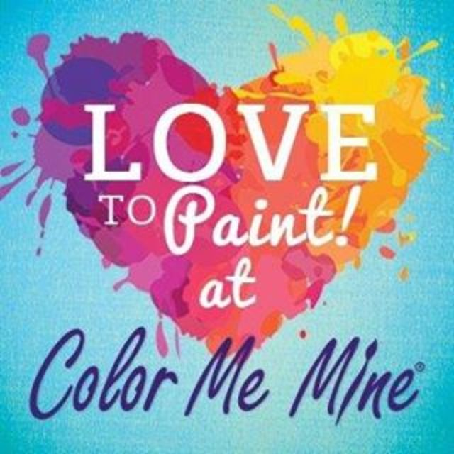 Color Me Mine, Glenview, IL logo