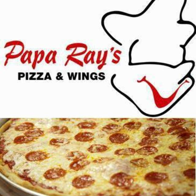 Papa Ray's Pizza & Wings, Chicago, IL logo
