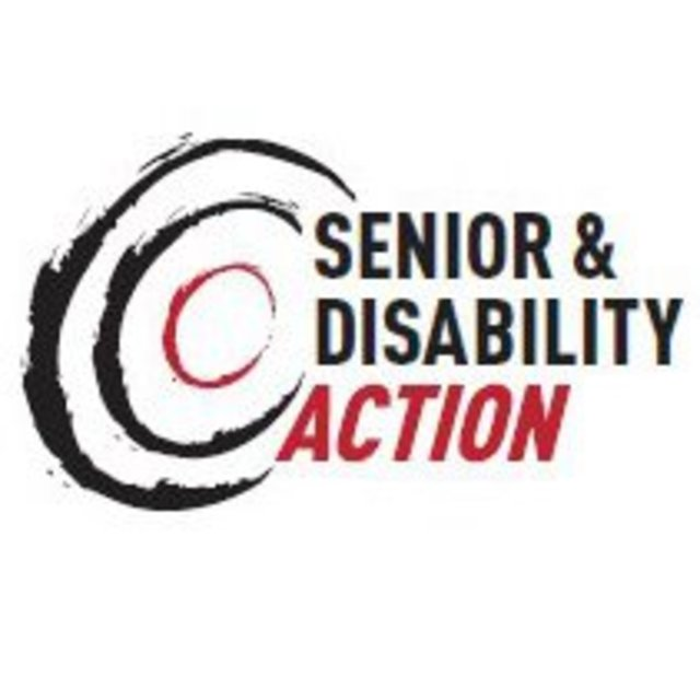 Senior and Disability Action, San Francisco, CA logo