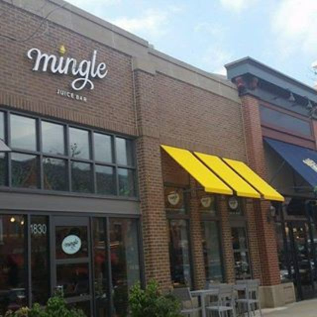 Mingle Juice Bar, Glenview, IL logo