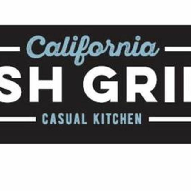 California Fish Grill, Daly City, CA logo