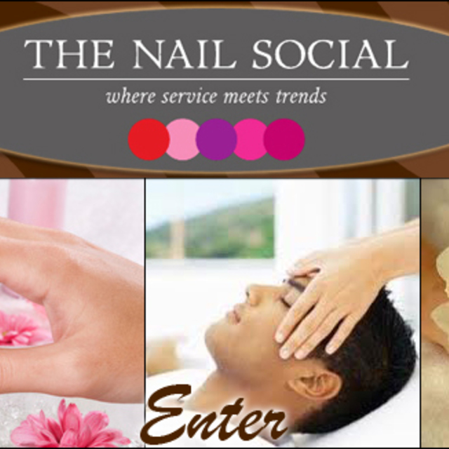 The Nail Social, Chicago, IL logo