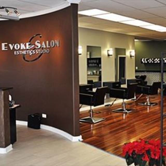 Evoke Salon & Spa, Glenview, IL logo