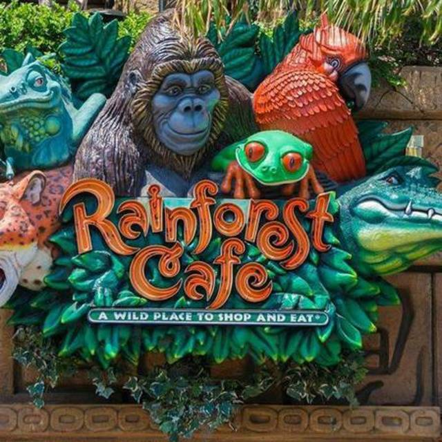 Rainforest Cafe Menu Schaumburg Il