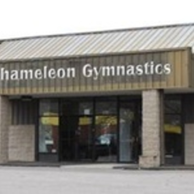Chameleon Gymnastic, Castle Rock, CO logo