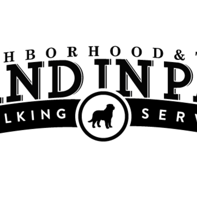 Hand in Paw Dog Walking, Oakland, CA logo