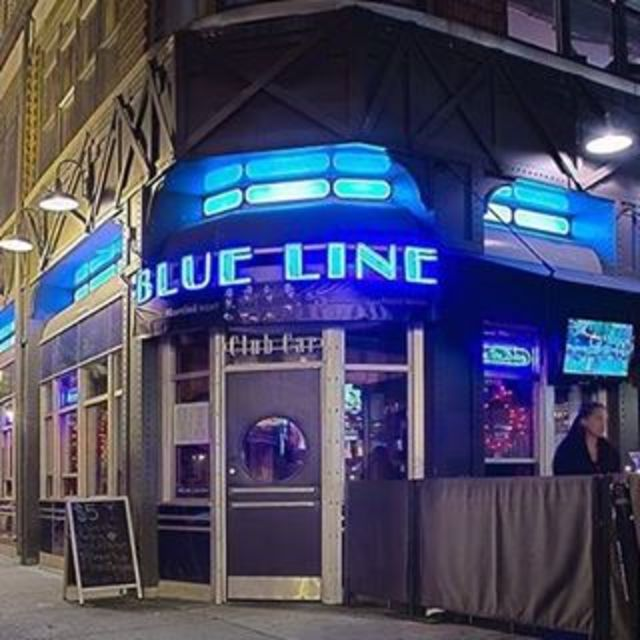 Blue Line Lounge & Grill, Chicago, IL logo