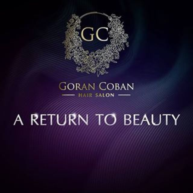 Goran Coban Salon, Chicago, IL logo