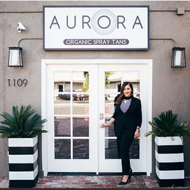Aurora Organic Spray Tans, Walnut Creek, CA logo