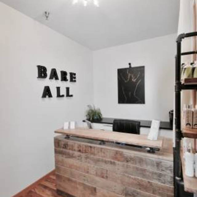 Bare All Beauty Bar, Saint Charles, IL logo