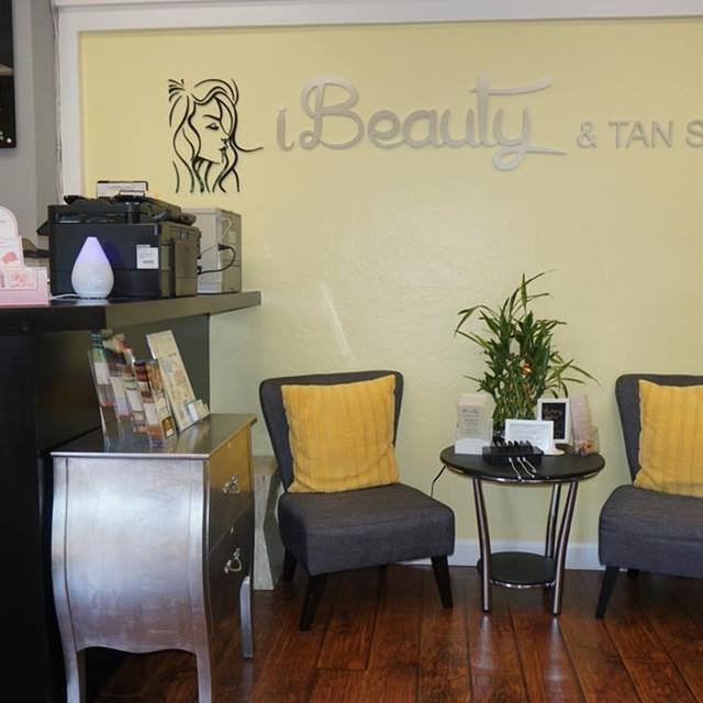 iBeauty & Tan Salon, Pleasanton, CA logo