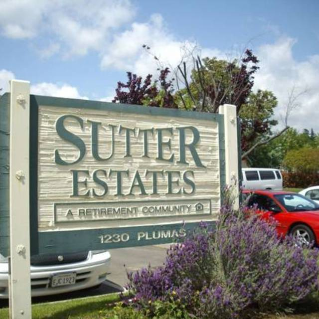 Sutter Estates Retirement Community, Yuba City, CA logo