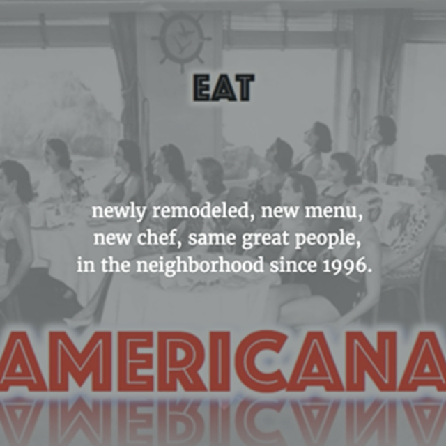 Eat Americana, San Francisco, CA logo