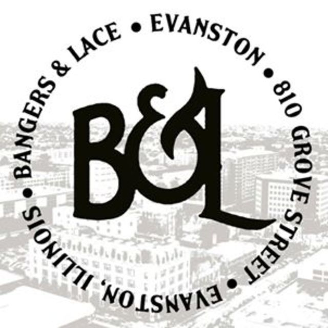 Bangers and Lace, Evanston, IL logo