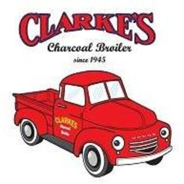 Clarke's Charcoal Broiler, Mountain View, CA logo