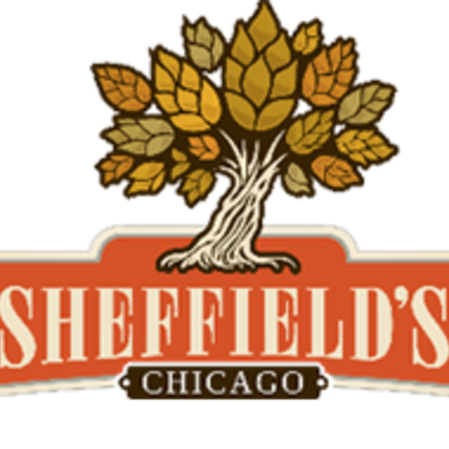 Sheffield's Beer and Wine garden, Chicago, IL logo
