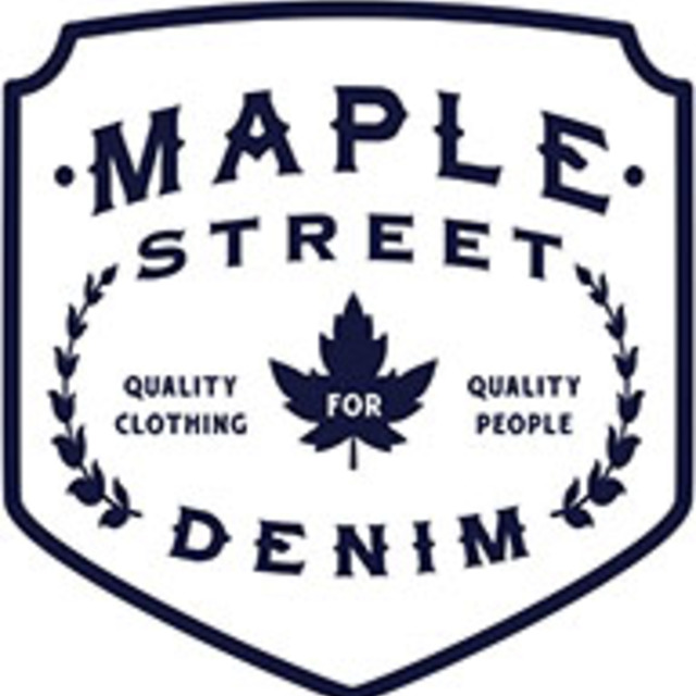 Maple Street Denim, Oakland, CA logo