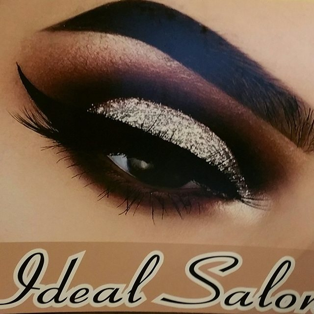 Ideal salon, Chicago, IL logo