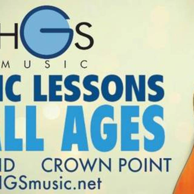 HGS Music, Highland, IN logo