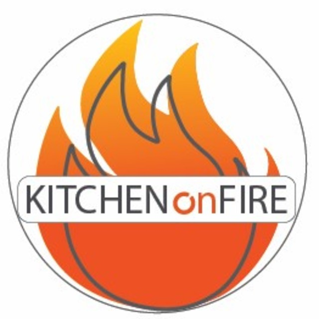 Kitchen on Fire, Berkeley, CA logo