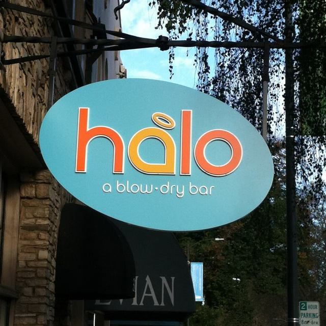 Halo Blow Dry Bar, Burlingame, CA logo