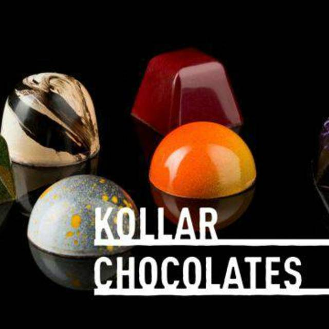Kollar Chocolates, Yountville, CA logo