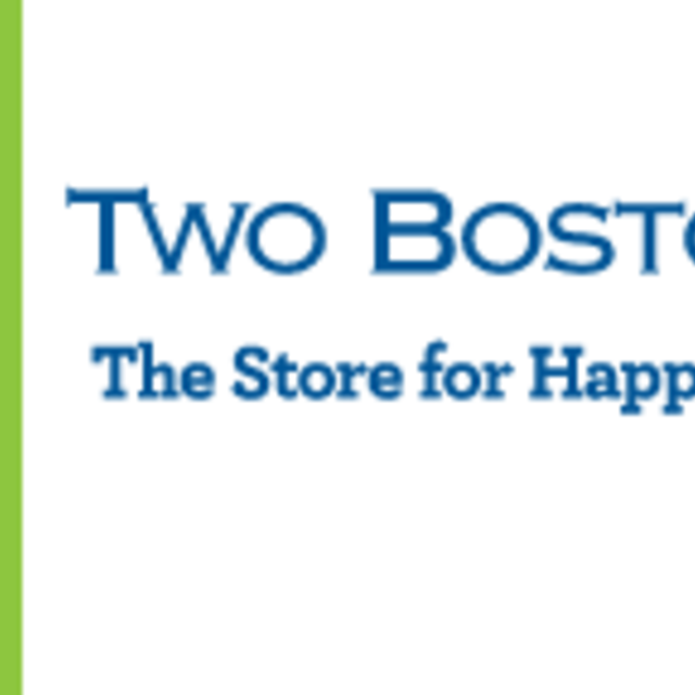 Two Bostons Pet Boutique, Wheaton, IL logo