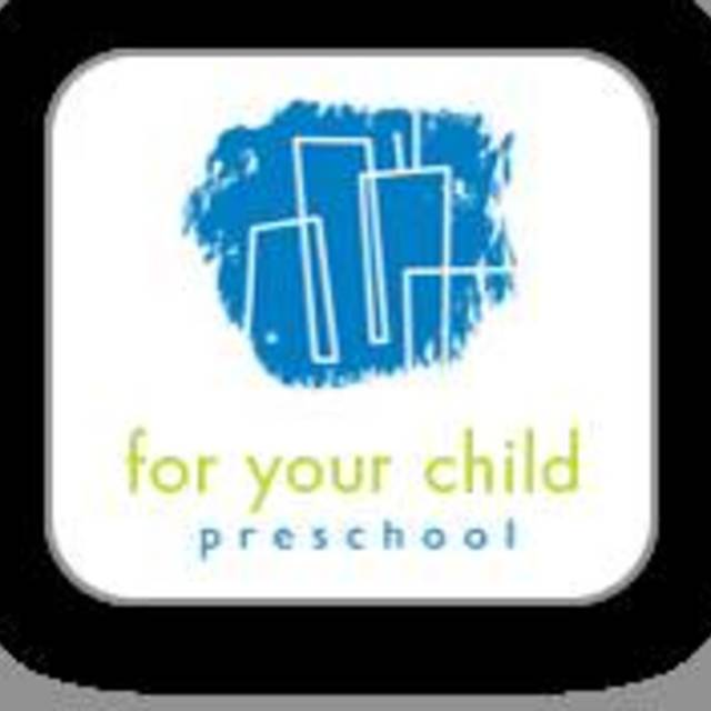 For Your Child Preschool, Chicago, IL logo