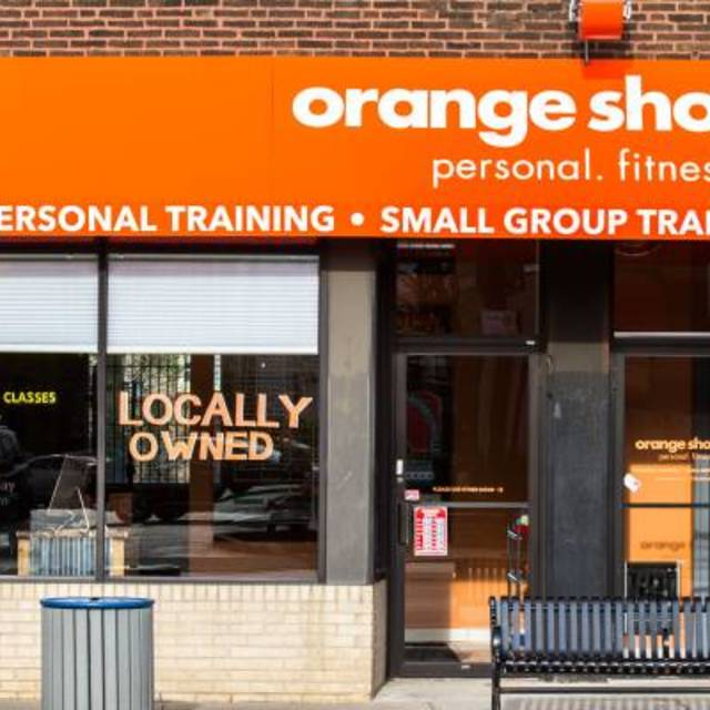 Orange Shoe Personal Fitness Trainers, Chicago, IL logo