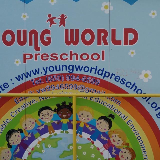 Young World Preschool, Daly City, CA logo