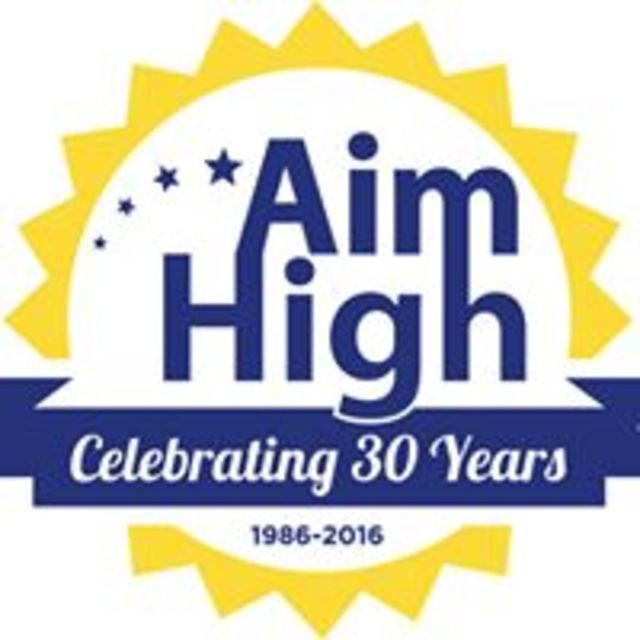 Aim High for High School, San Francisco, CA logo