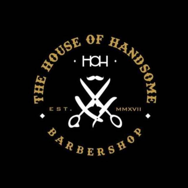The House of Handsome Barbershop, San Francisco, CA logo